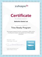 new dental crown trios ready certified
